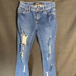 Jordache Girls Distressed Skinny Jeans 16 Slim